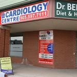 Bathurst Street, Thornhill, cardiology centre entrance
