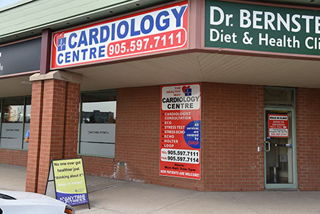 Thornhill Cardiology tests office
